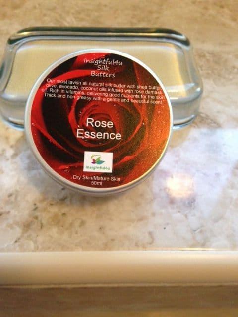 Rose Essence Natural Organic Silk Butter Moisturiser